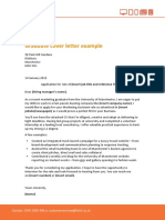 Fish4jobs Graduate Cover Letter Template