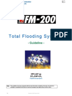 Tyco Guideline for Fm 200 System