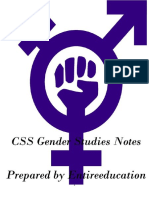 CSS Gender Studies