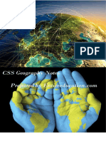 CSS Geography Notes