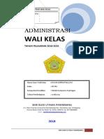 Administrasi Wali Kelas 1