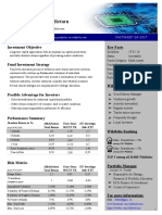 Factsheet AlfaAdvisor Total Return Q4 2017