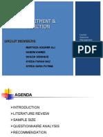 Presentation - Recruitment & Selection
