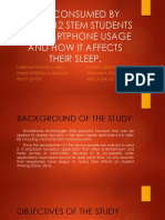 The Effects of Smartphone Usage