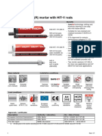 Technical Details of Hilti HIT-HY 200-A
