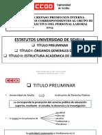 Esquemas estudio oposicion universidad de sevilla 2019