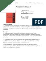 Acupuntura Lingual EV011