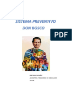 sistema preventivo Don Bosco