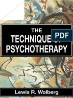 Techniques of Psychotherapy