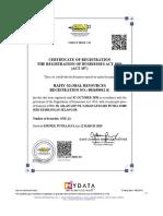 Digital CTC Business Certificate