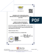 Digital CTC Business Certificate