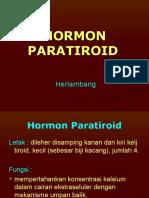 Hormon Paratiorid