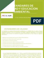 Estandares de Calidad y Educacion Ambiental