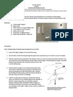 Force and Motion_Circular Motion Activity Sheet_2