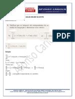 Questões de Cálculo III - Arquivo Único Em 23 Julho 2019