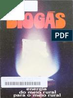 BIOGÁS-Energia do Meio Rural para o Meio Rural-Embrapa 1981