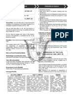 0 01 Memory Aid Persons and Family Relations 1.Doc Version 1 2