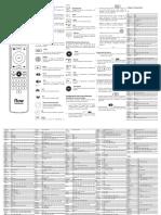 Manual de Usuario Cablevision Smart Control IR 2016