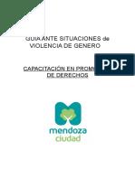 GUÍA de Ayuda Ante Situaciones de Violencia de Genero