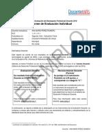 Ejemplo Informe Evaluación Individual 2018