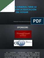 PERFIL CRIMINAL - EDUCACION EN EL HOGAR  -  TABASCO FEBRERO 2016.pptx