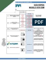 Manual de Instalación Rápida. Acuda GSM H310. Marca Hexacom