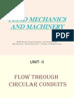 Fluid Mechanics and Machinery II
