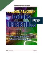 Como Escribir Ebook