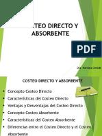 Clase Costeo Directo y Absorbente 1