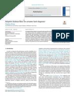 Adaptive Kalman Filter for Actuator Fault Diagnosis