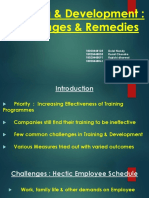 PPT - Challenges Faced in L&D - Their Solutions