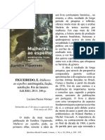 Artigo Sobre o Livro MULHERES AO ESPELHO de Eurídice Figueiredo