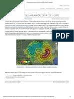 Harta de Zonare Seismică (PGA) Din P100!1!2013 - Encipedia