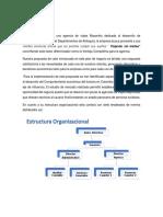 Manual de Funciones agencia de viajes