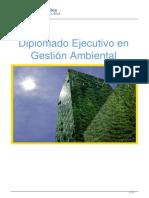 Diplomado Ejecutivo en Gestión Ambiental
