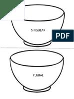 Tazon Singular y Plural