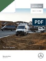 2019 Mercedes Benz Sprinter Vans Brochure (4)