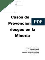 prevencion de riesgo en mineria
