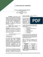Informe 7 RESISTIVIDAD DE SUELOS