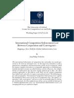 International Competition Enforcement Law