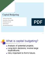 4. Capital Budgeting