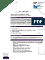 Analiza de Business – Managementul Cerințelor