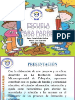 Socializacion escuela de familia