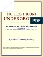 [Fyodor Dostoyevsky] Notes From Underground (Webst(BookSee.org)