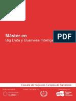 Guia Formativa Master en Big Data y Business Intelligence