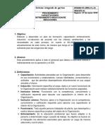 Procedimiento de Capacitaciones Entrenamiento e Inducción