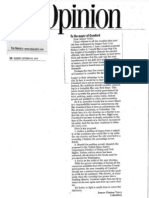 Crawford Letter to the Editor