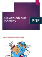 site analysis and planning unit 1