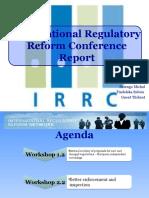 International Regulatory Reforms Conference