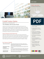 Datasheet FortiAP 321C E